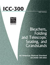 ICC 300-2002:  Bleachers, Folding and Telescopic S